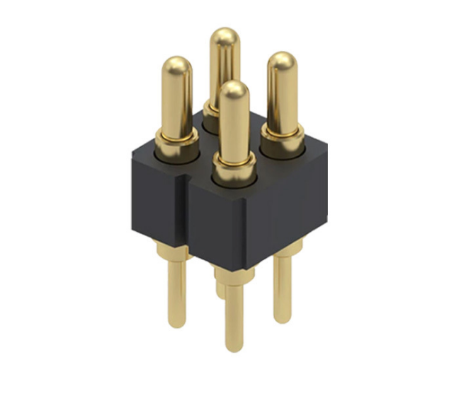 2.54mm pitch DIP spring loaded pogo pin connector