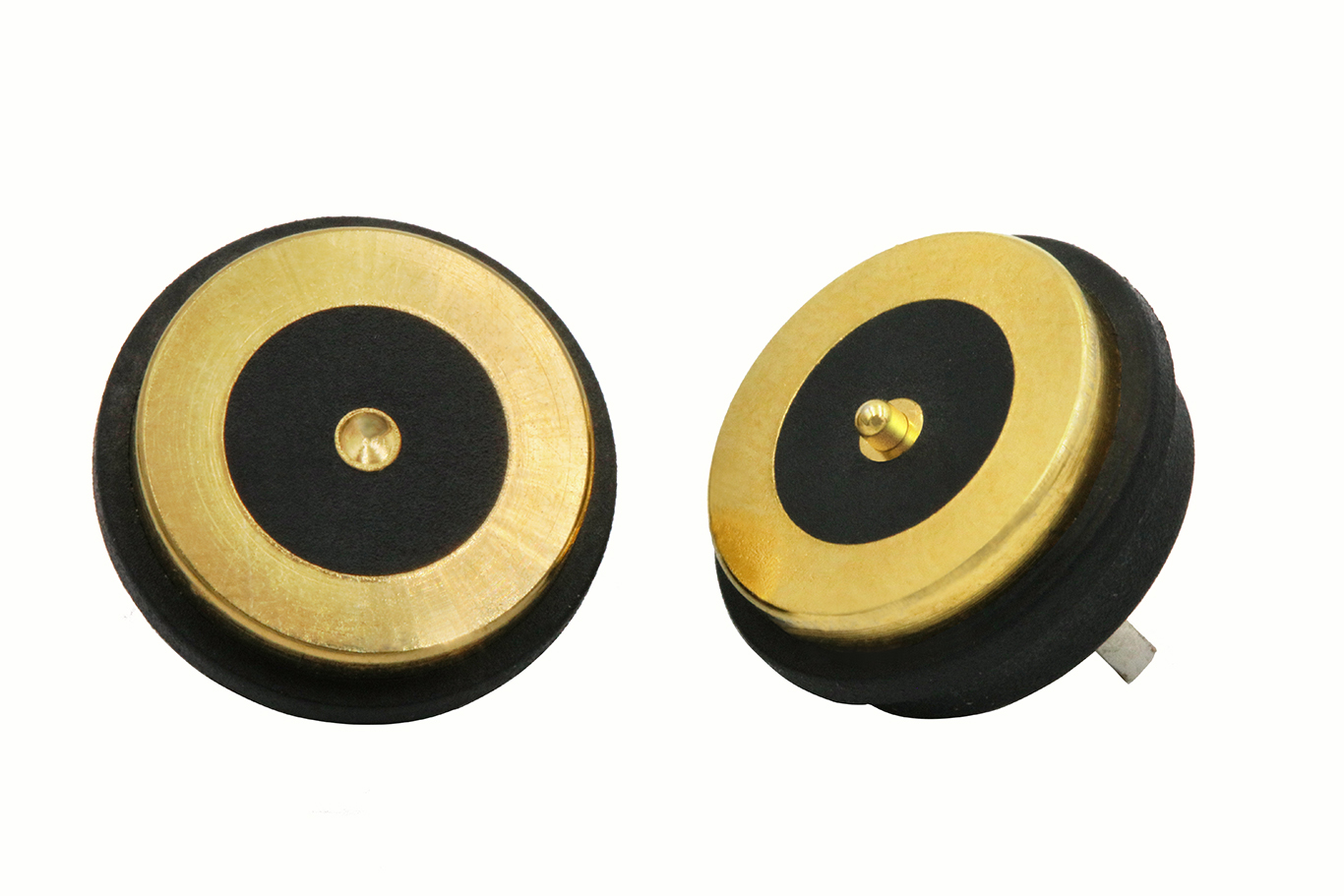 Waterproof gold plating male and female DC power pogo pin magnetic connector