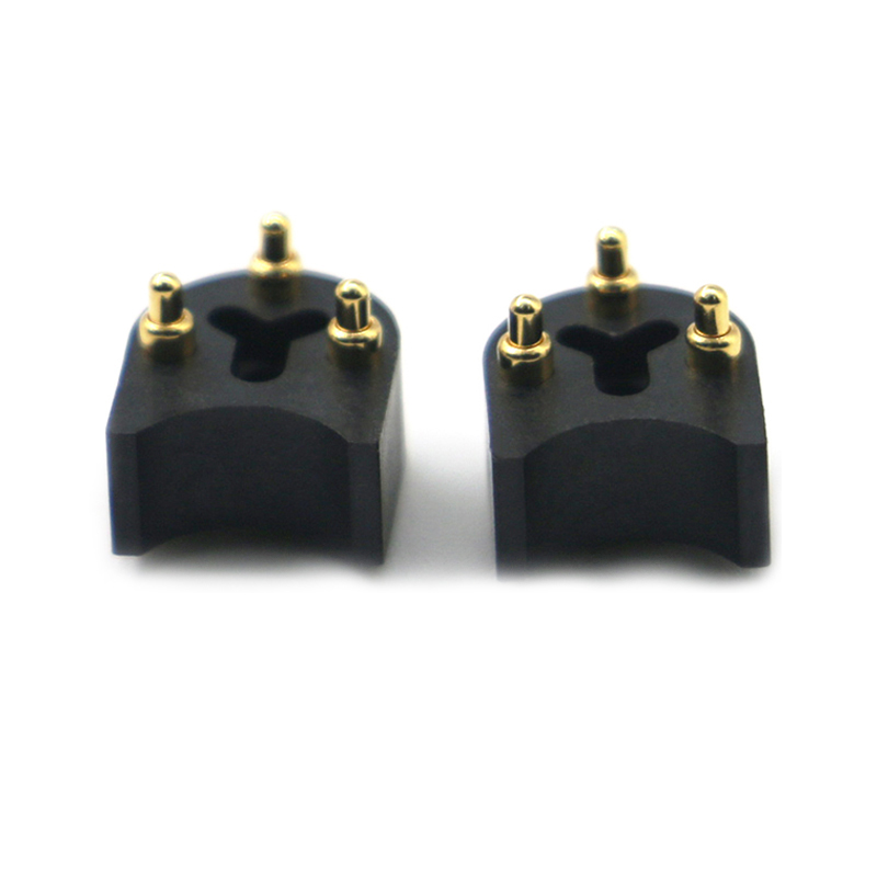 Cutstomized 3pin pogo pin connector for electromobile