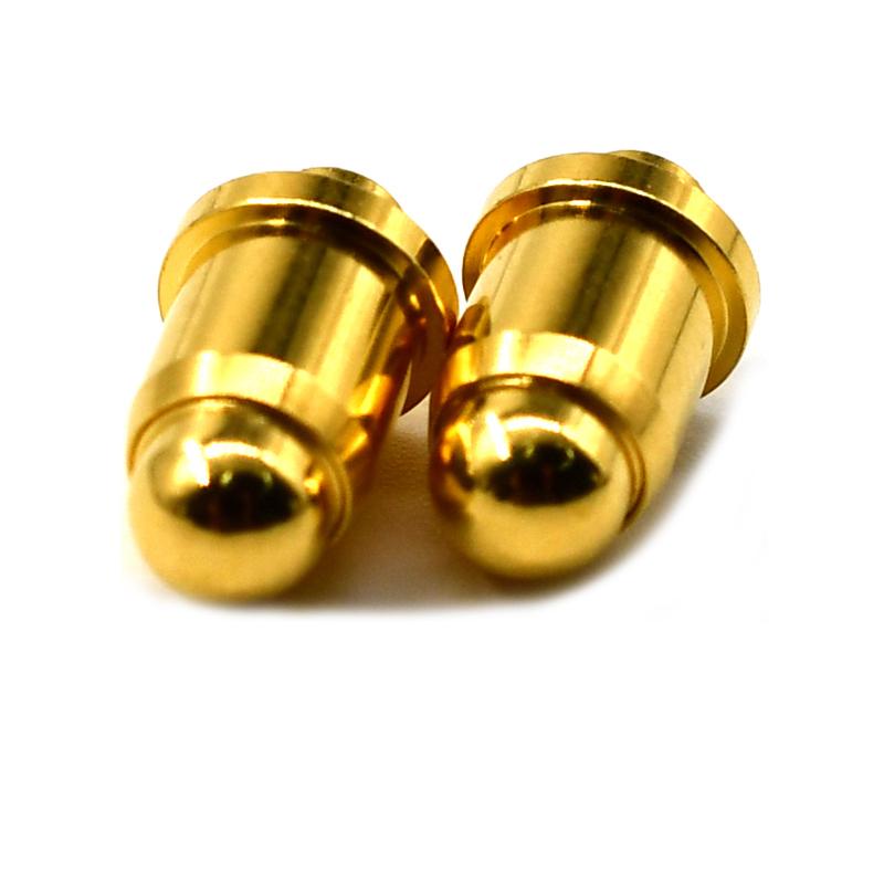 Brass Steel DIP pogo pin for PCB